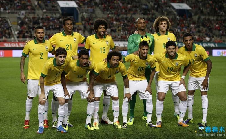 2014世界杯巡礼之巴西:8巨星荣耀桑巴造6冠第一王者