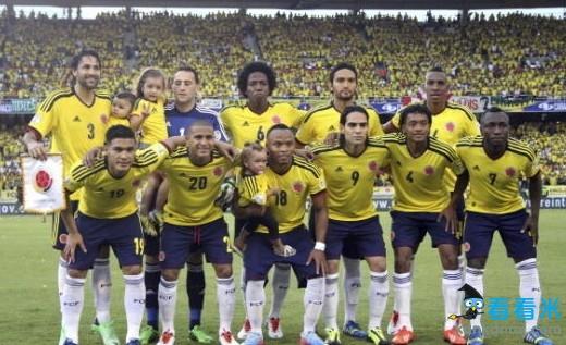 2014世界杯巡礼之哥伦比亚 老虎法尔考巴西再咆哮