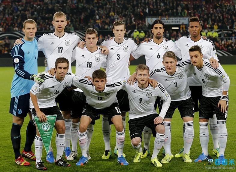 2014世界杯巡礼之德国:17年无冕之王欲破魔咒捧大力神杯