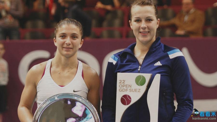 WTA巴黎赛:帕芙娃连赢七局逆转埃拉尼 夺2014赛季首冠