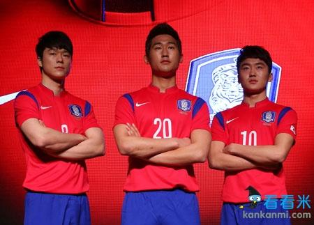 耐克公布韩国国家队世界杯队服 阴阳平衡设计更加现代