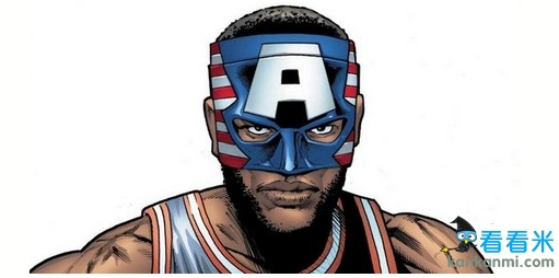 漫画公司为詹姆斯设计动漫造型 面具侠或将搬上荧幕