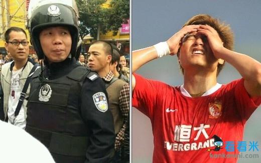 广州沙河小偷谎报恐怖袭击 中超恒大战毅腾现场加强安保