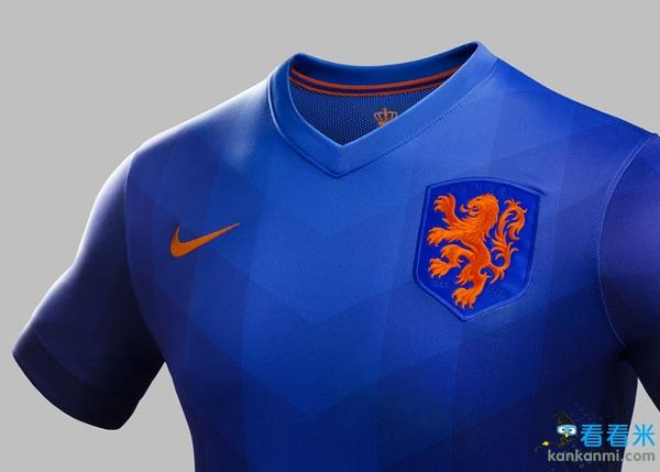 耐克发布荷兰国家队巴西世界杯客场战袍