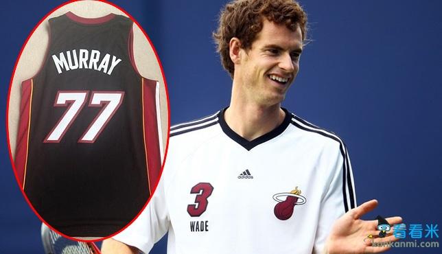 穆雷获赠热火77号球衣 祝福卫冕冠军实现NBA三连霸