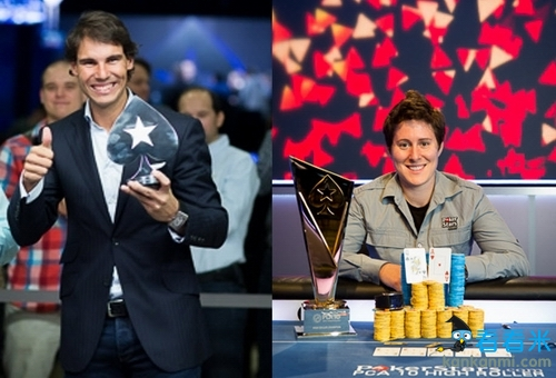 纳达尔不打网球打德州扑克 将与美女牌王单挑对决