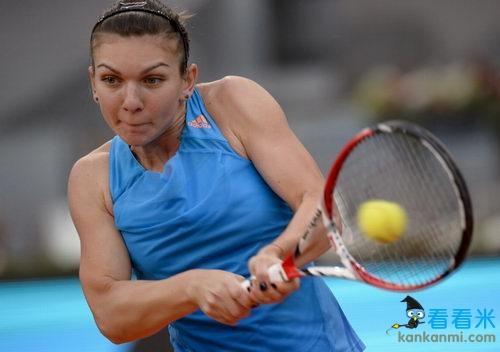 WTA马德里赛:哈勒普淘汰伊万 A拉德进4强战莎娃
