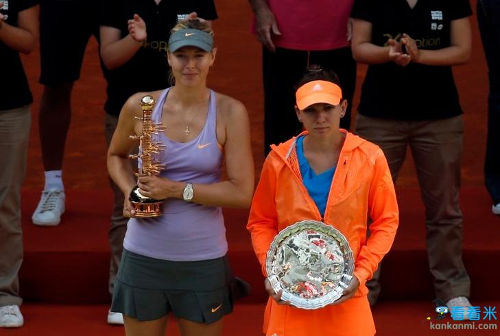 WTA马德里赛:莎娃逆转哈勒普 夺生涯第31冠