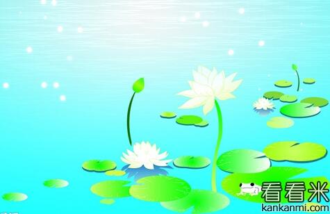"""小蝌蚪游呀,游呀,游到池塘边,看见一只青蛙坐在圆荷叶上""""各各各""""地"""