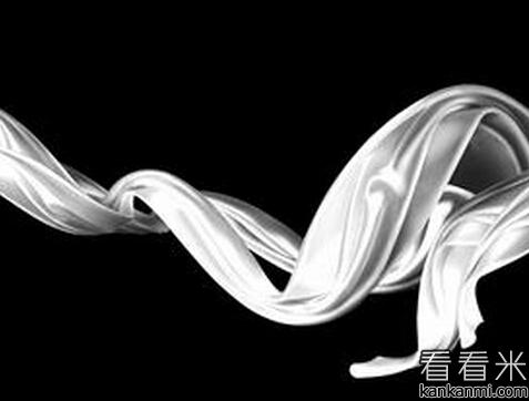 横梁上的白色丝带
