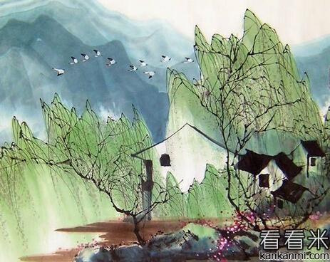 村陆游_游山西村 陆游莫笑农家腊酒浑,丰年留客足鸡