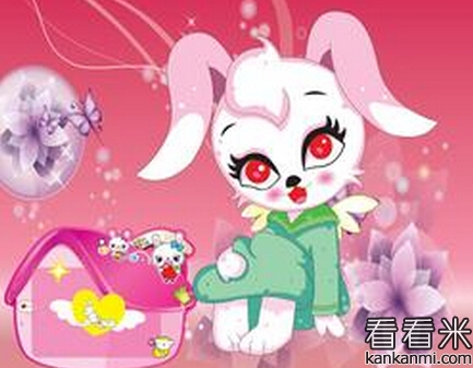 想飞的小白兔