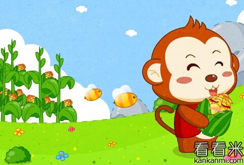 小猴子下山的故事