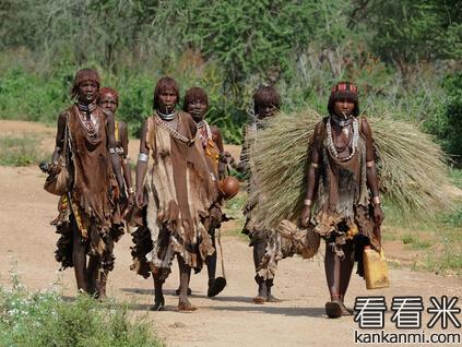 卖鞋子给非洲土著居民