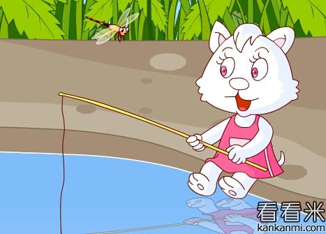猫钓鱼班教案音乐 图片合集