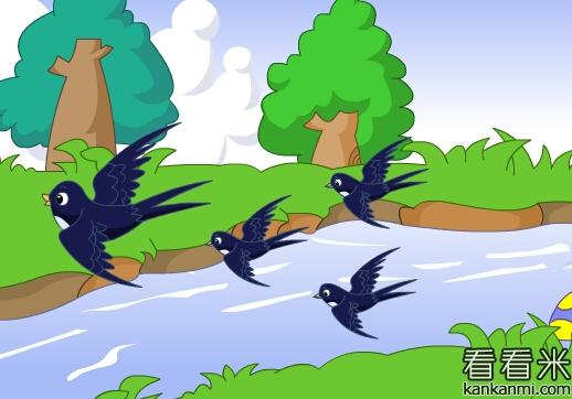 燕子图片 卡通图片