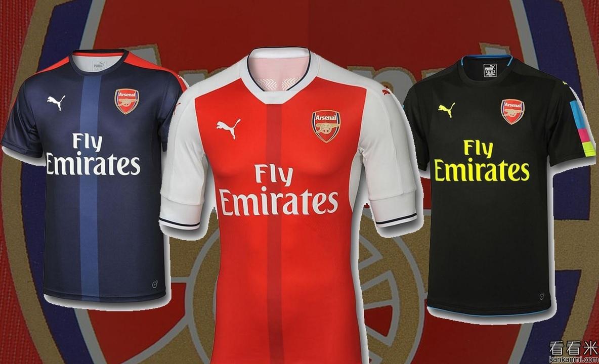 昨天阿森纳发布了他们下赛季的新款球衣,英国媒体《镜报》对此进行了图片