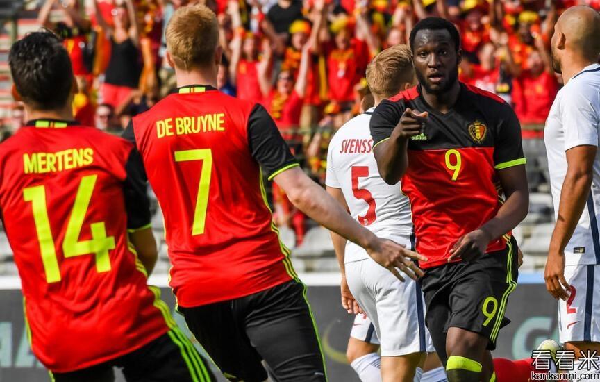友谊赛-卢卡库闪击  比利时3-2挪威