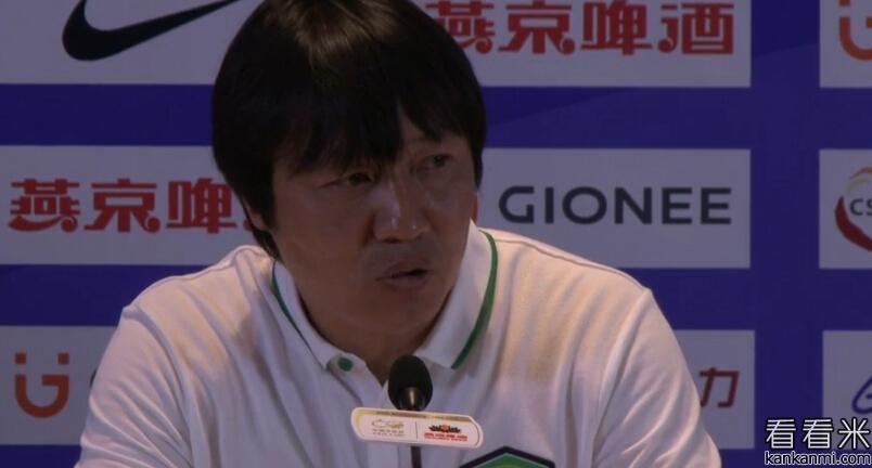 谢峰:我们创造了很多机会,输球不应该