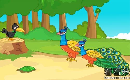 孔雀爸爸和小孔雀