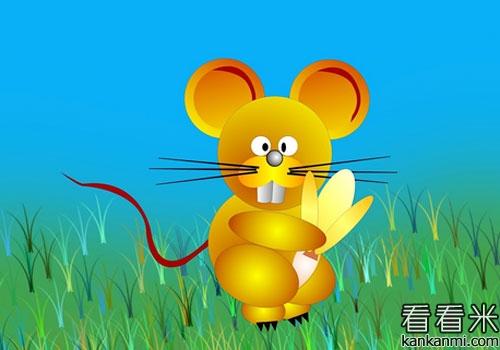贪得无厌的两只小老鼠