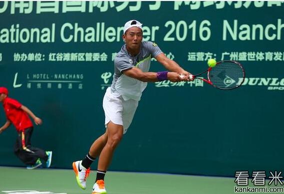 2016南昌ATP网球比赛:张择不敌林科-麦托塞维奇 无缘半决赛