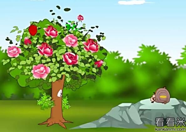 蜗牛和玫瑰树=>鼠标右键点击图片另存为