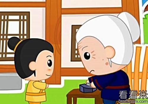 中国成语《铁杵磨针》