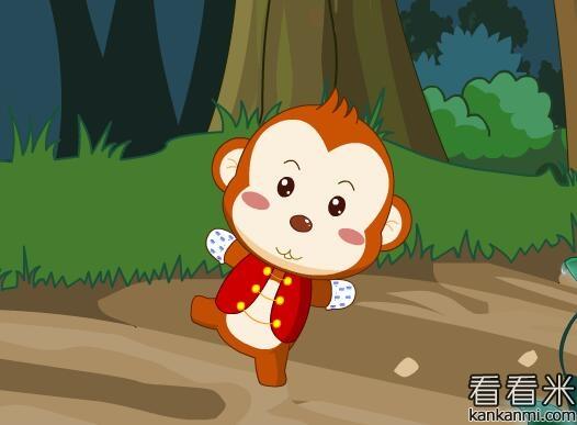 猴子戴手套