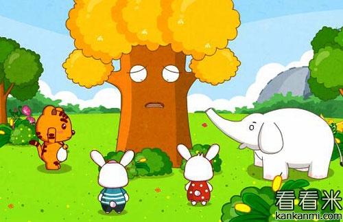 这下急坏了小动物们,大家都纷纷帮助小果树治病,可是都没有效果,最后