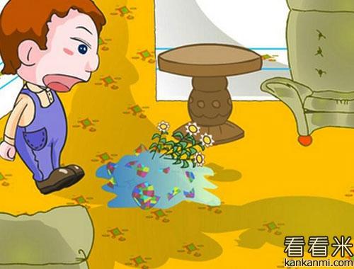 打碎花瓶的小列宁