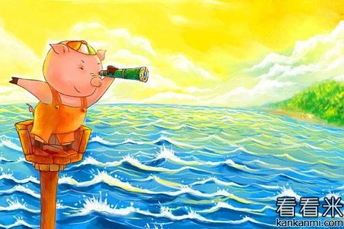 笨小猪学跳舞的故事