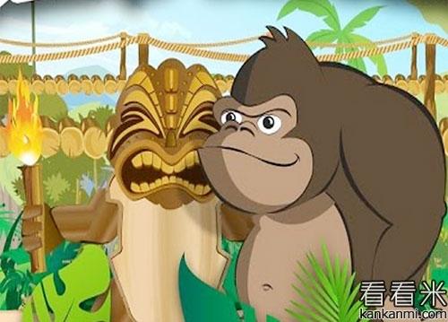 猿猴与两个人的寓言故事