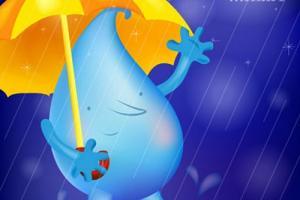 想妈妈的小雨滴