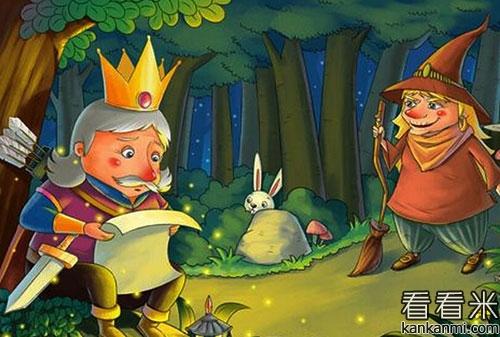 格林精选童话《六只天鹅》