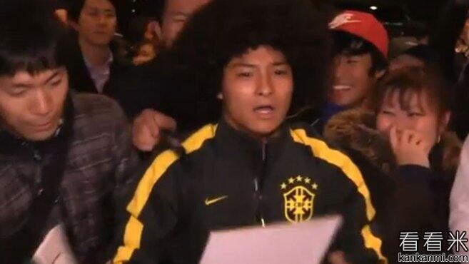 日本球迷扮成马塞洛索要签名未成功