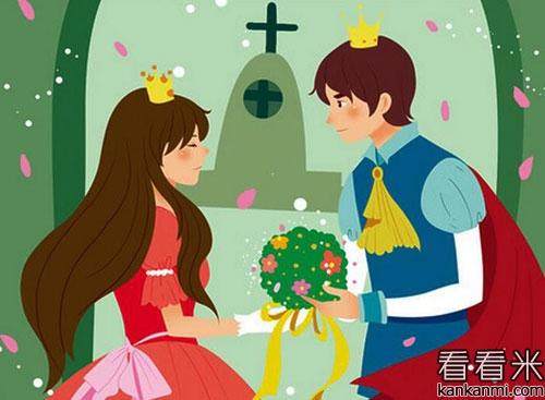 格林选读故事《两个国王的孩子》