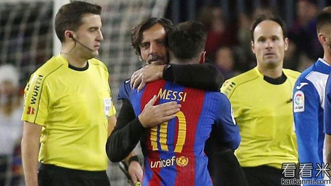 西班牙人主帅:只要梅西愿意,他每场都可戴帽