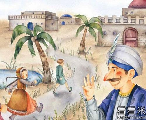 安徒生选读童话《小鬼和小商人》