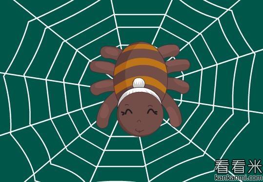 蜘蛛织布的故事