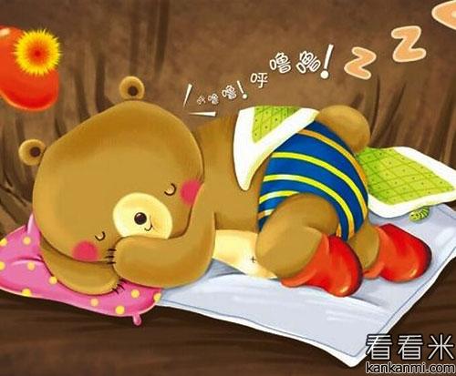 儿童小故事之小熊开在树洞里的零食店