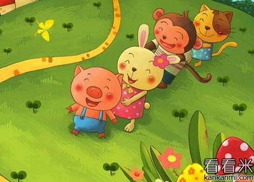 小猪泡泡爱上洗澡的睡前故事