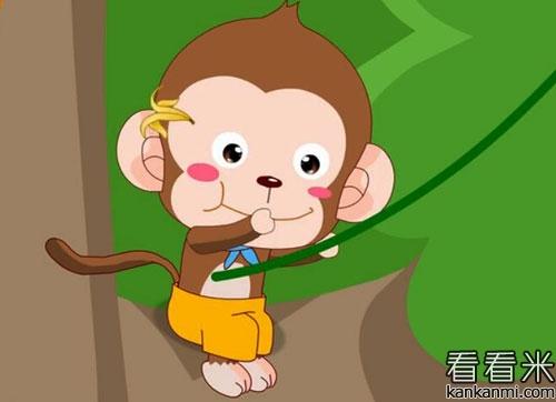 懒惰的小猴子的故事
