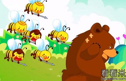 小熊种蜂蜜的故事
