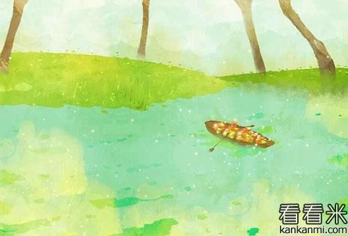 小溪里的桃花鱼的故事