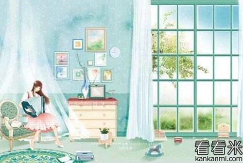 英语小故事《明天早上数》