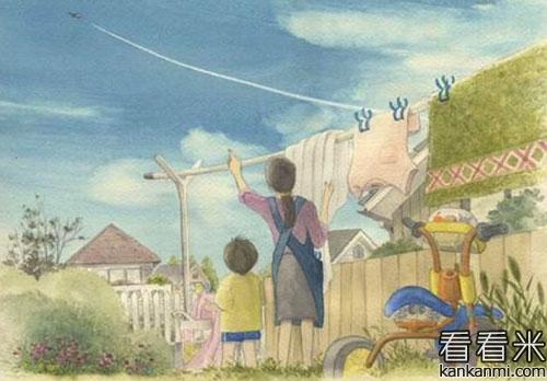 关于母爱的简短的故事【胜似亲娘的继母】