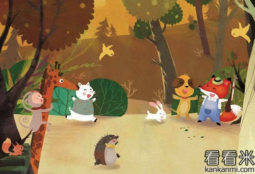 小狐狸帮助小野猪接尾巴的故事