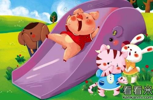 小猪胖胖打针的故事