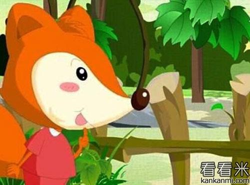 小狐狸偷玉米的故事